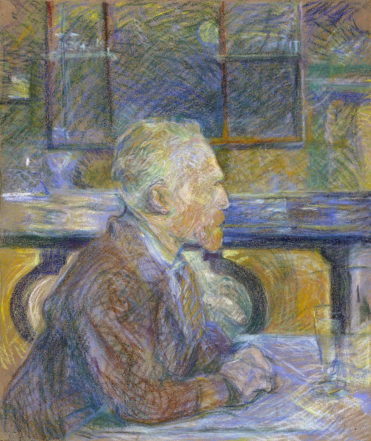 Van Gogh ritratto da Toulouse-Lautrec