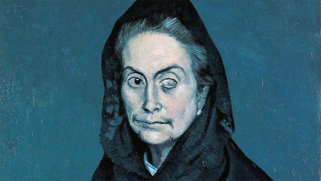 La Celestina, Picasso, dettaglio