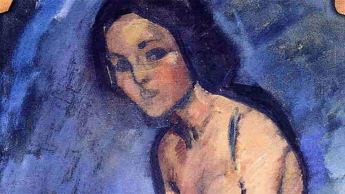 Nudo seduto Modigliani 1909 - Seated Nude