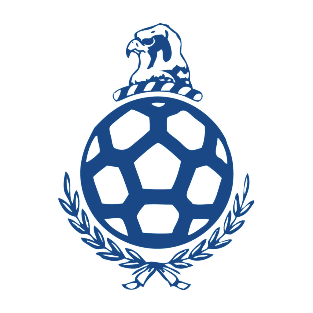 Subbuteo, logo con falco uccello bird