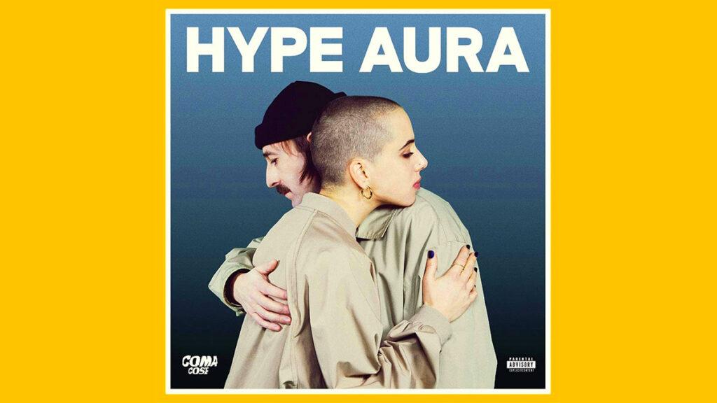 La copertina dell'album Hype Aura (Coma_Cose)