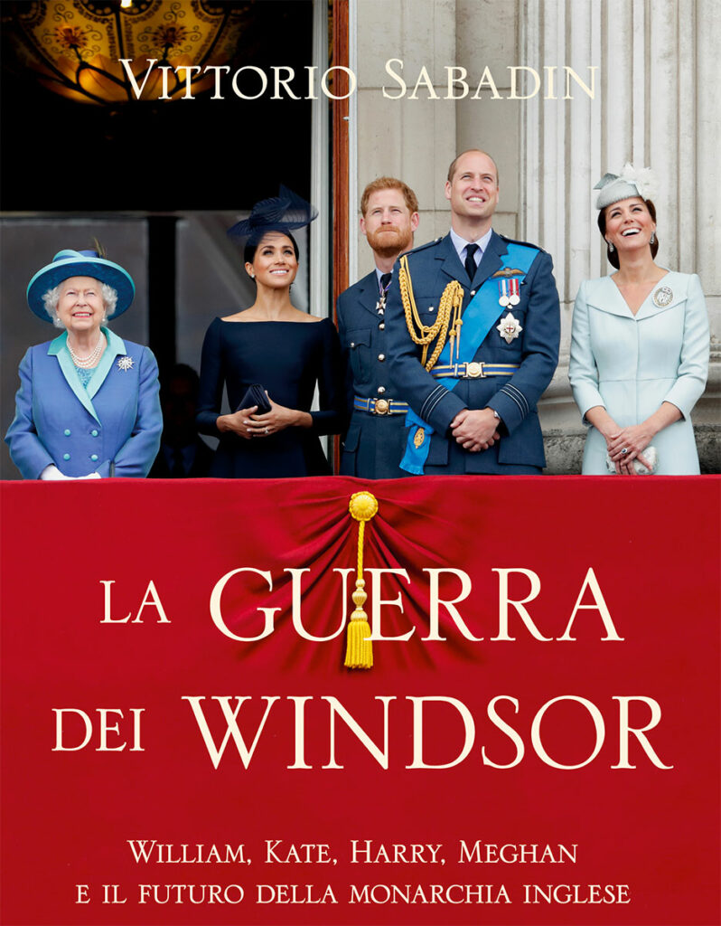 La guerra dei Windsor, copertina del libro