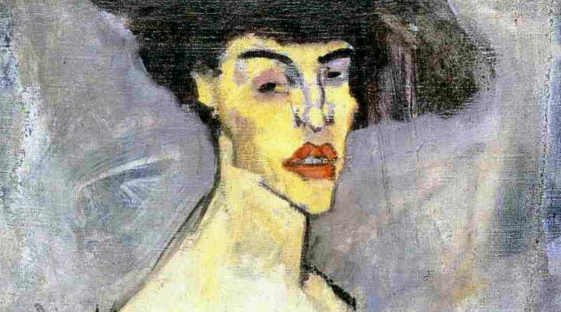 Busto di donna - Nudo con cappello - Modigliani