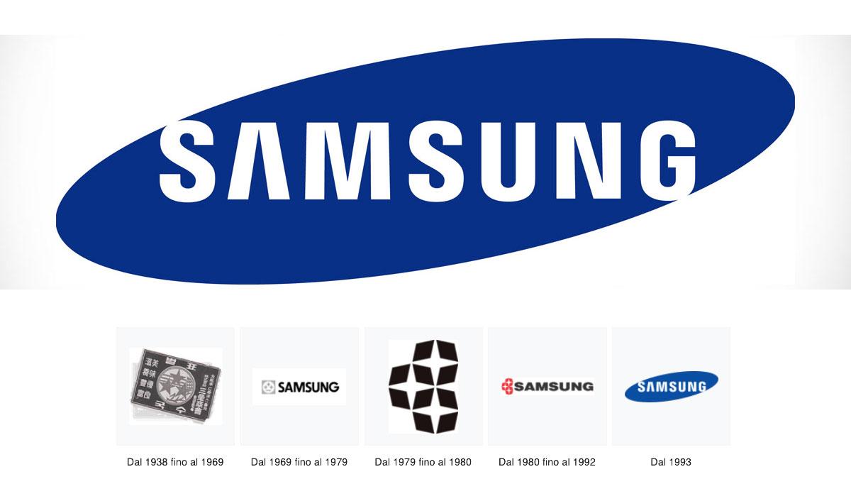 Samsung logo - I vecchi loghi Samsung