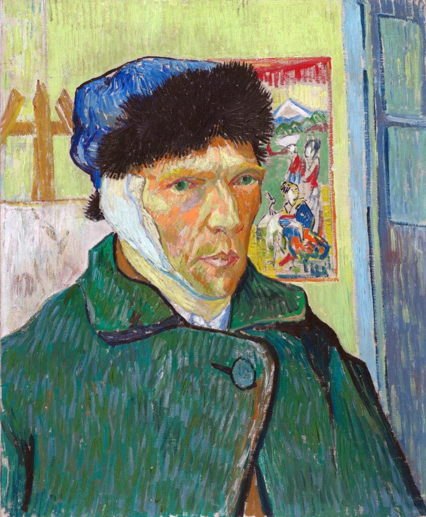 Vincent van Gogh - Autoritratto con l'orecchio bendato