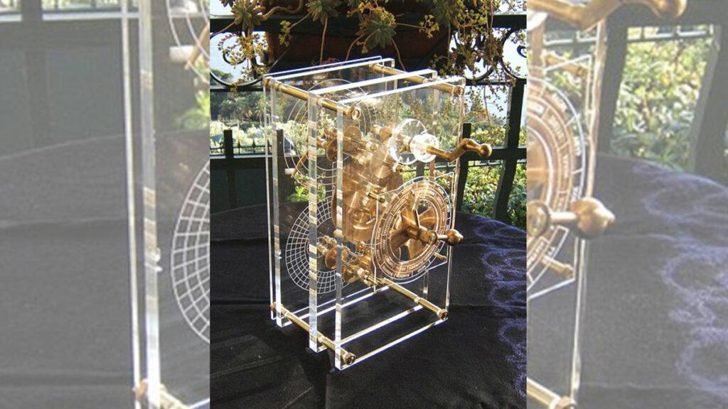 Macchina di Anticitera - Antikythera mechanism - una ricostruzione del 2007