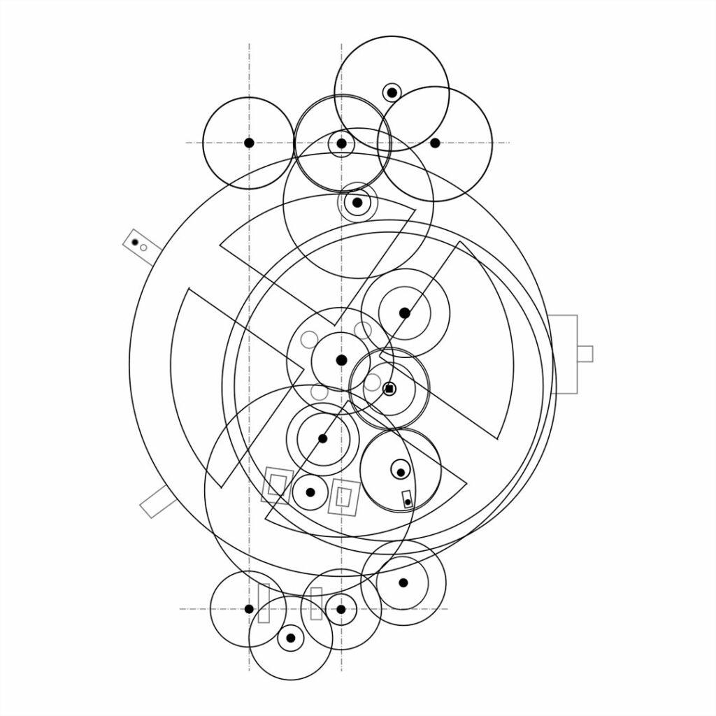 Schema del meccanismo della Macchina di Anticitera