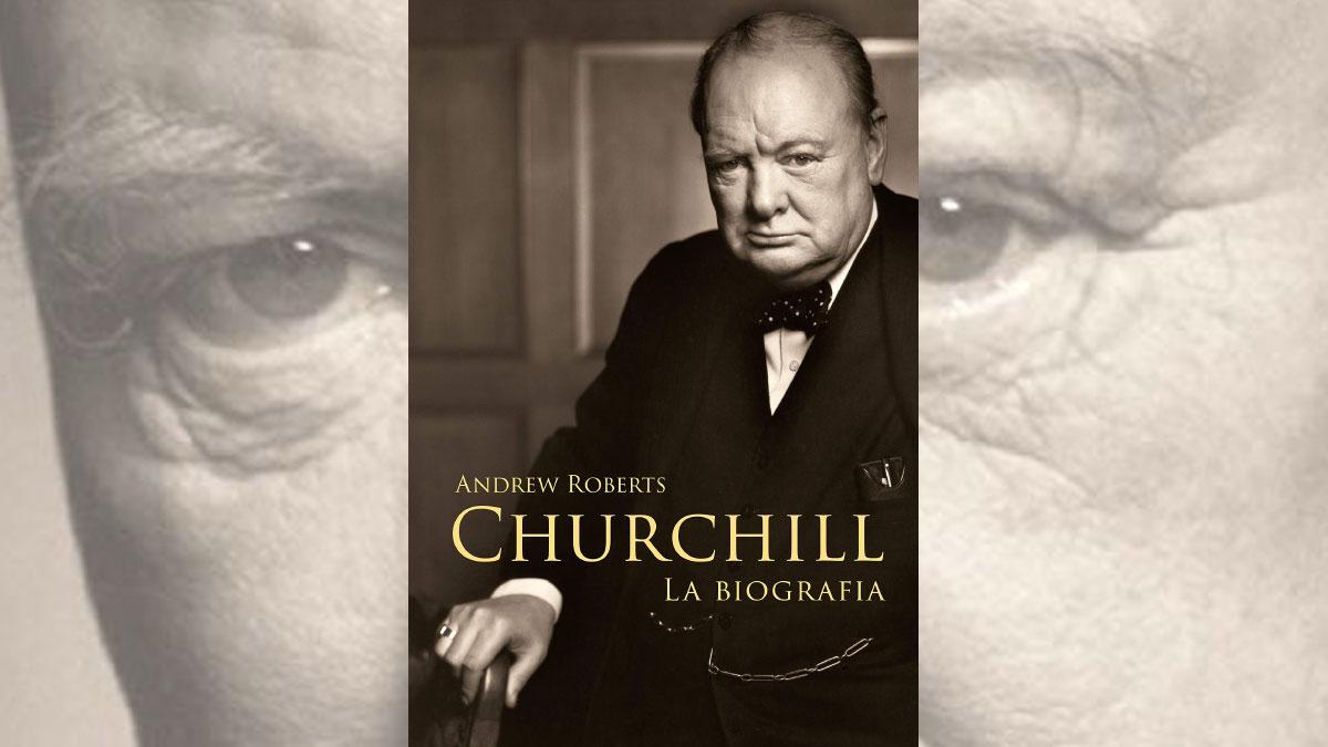 Churchill. La biografia - La copertina del libro di Andrew Roberts