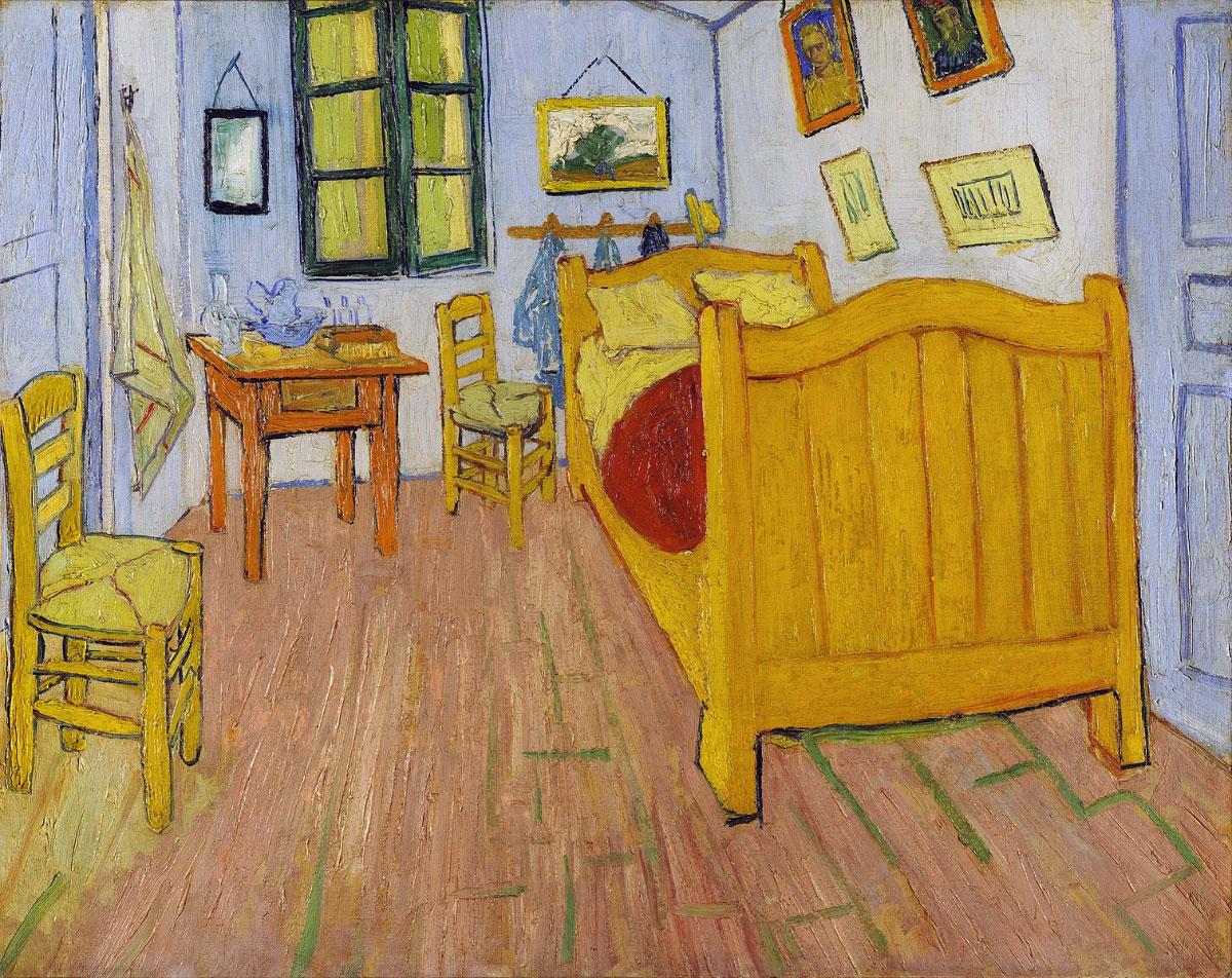 Stanza di Vincent ad Arles - versione 1 (Amsterdam)