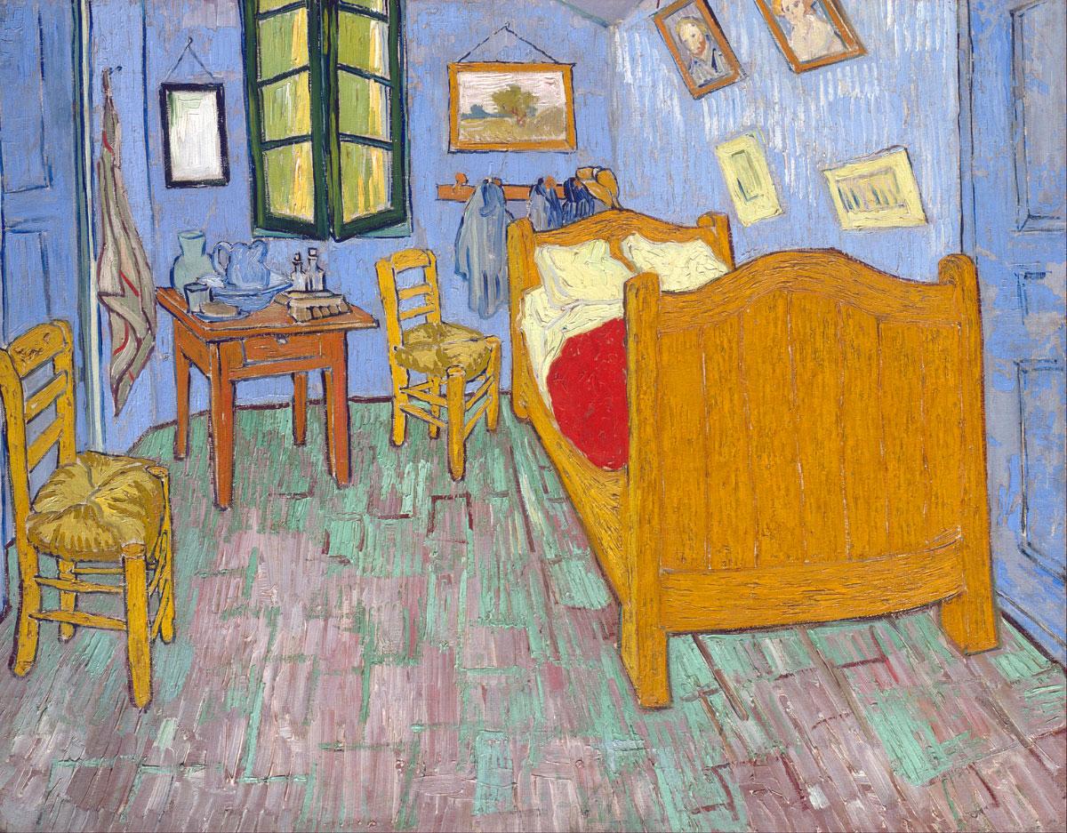 Stanza di Vincent ad Arles - versione 2 (Chicago)