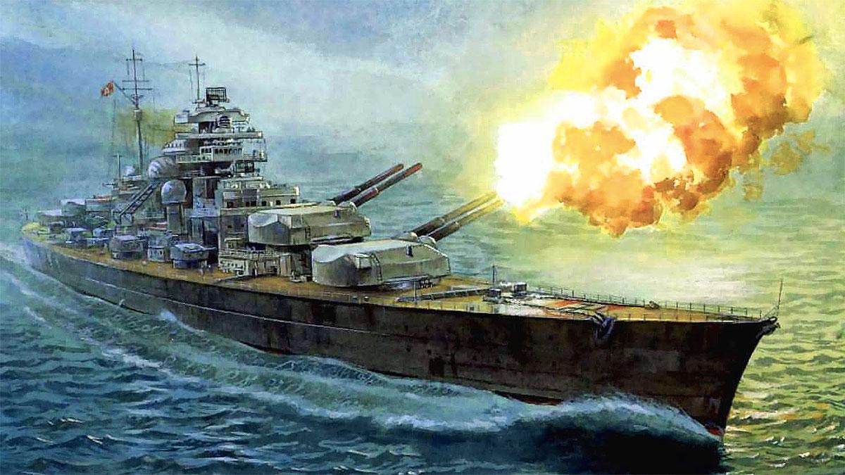 Bismarck nave da battaglia