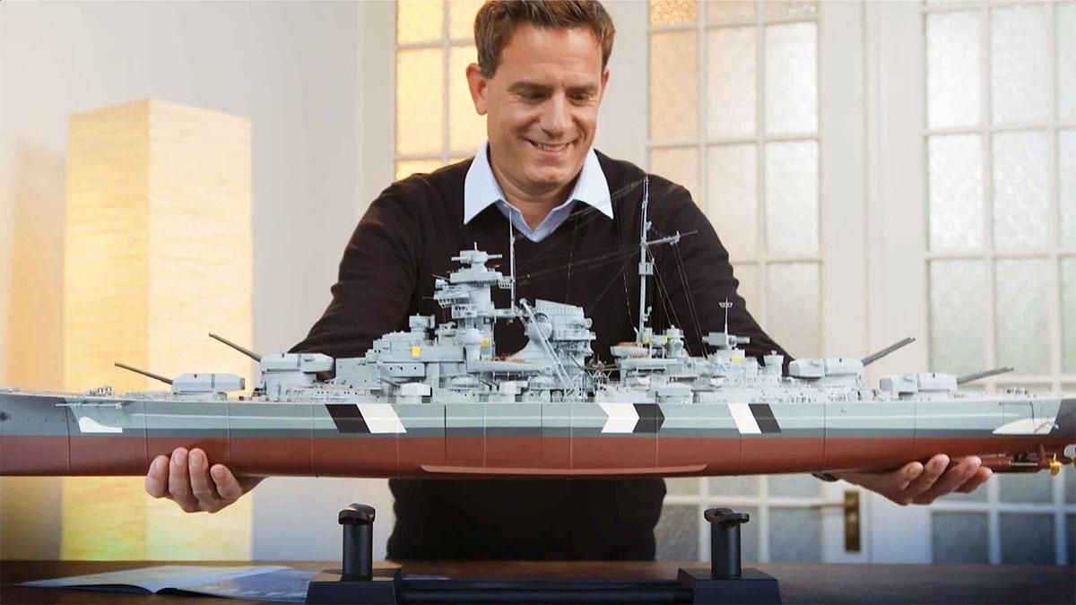 Nave Bismarck: modellino in scala