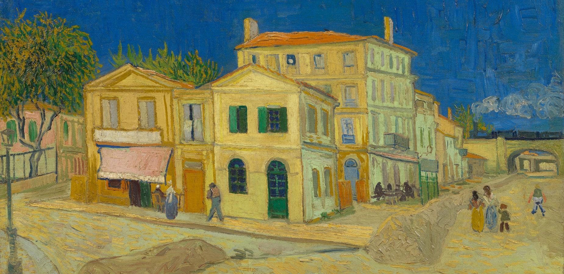 La casa gialla di Van Gogh The Yellow House (The Street)