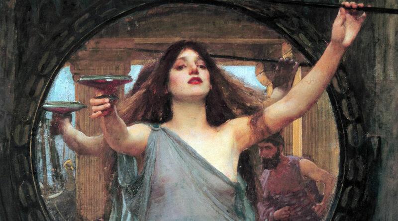 Circe maga e dea mitologia