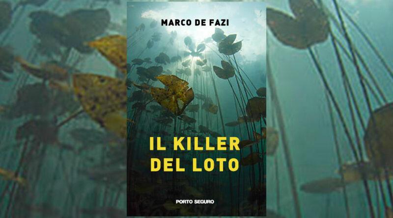 Il killer del Loto, copertina del libro di Marco De Fazi